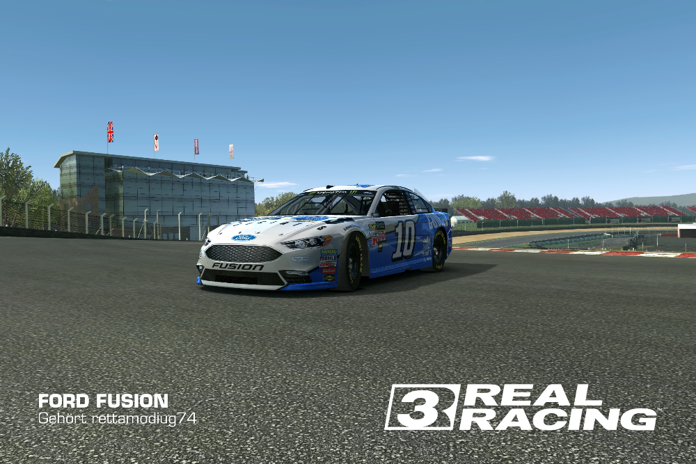 Ford Fusion (Stewart-Haas Racing) (10)